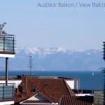 Top-Lage und See und Berg Sicht